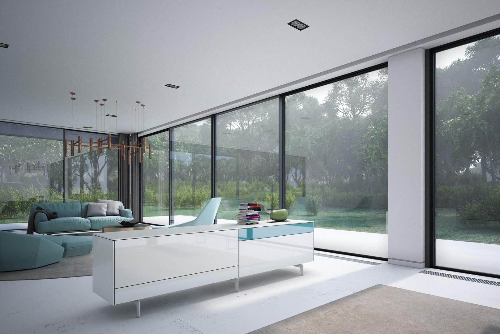 Farben fur wohnzimmer und esszimmer for Wandgestaltung gastezimmer